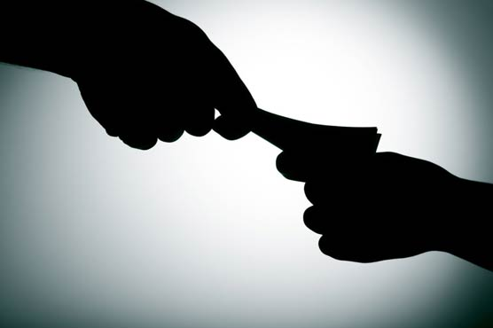 accused of bribery